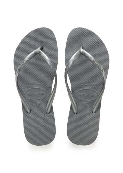 Havaianas slim steel grey