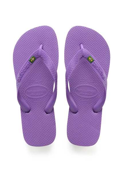 Havaianas brasil purple
