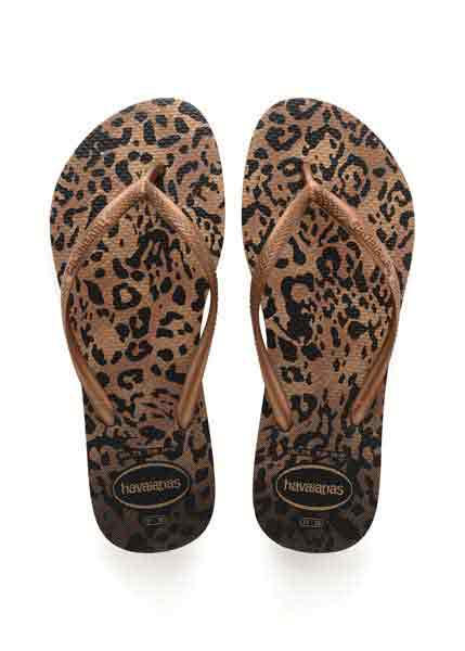 Havaianas slim animals rust