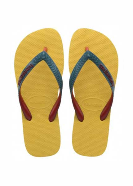 HAVAIANAS TOP MIX GOLD YELLOW