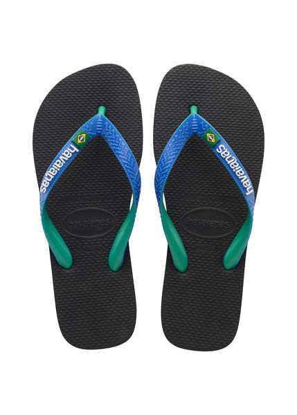 HAVAIANAS BRASIL MIX BLACK/BLUE STAR