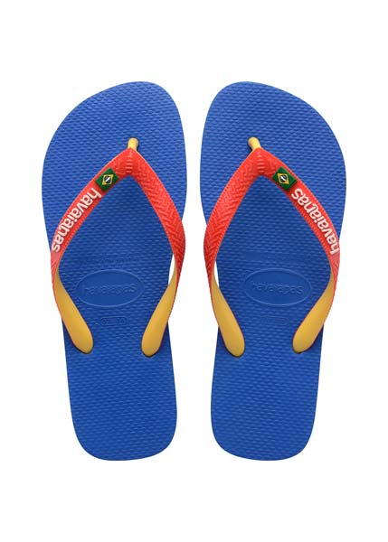 HAVAIANAS BRASIL MIX BLUE STAR/WHITE
