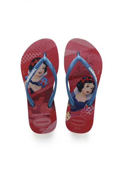 Havaianas kids slim princess ruby red