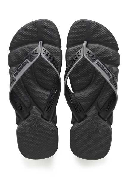 HAVAIANAS POWER BLACK/STEEL GREY