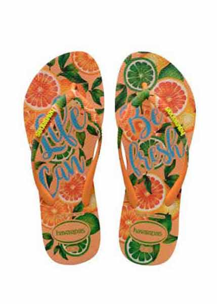HAVAIANAS SLIM PARADISO LIGHT ORANGE