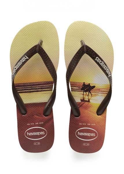 Havaianas hype sand grey/dark brown