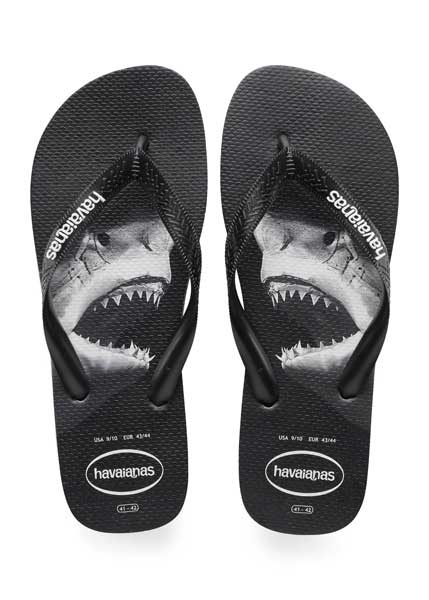 Havaianas top photoprint black/black/grey