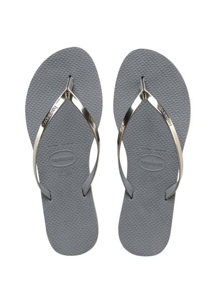 Havaianas open sandals steel grey