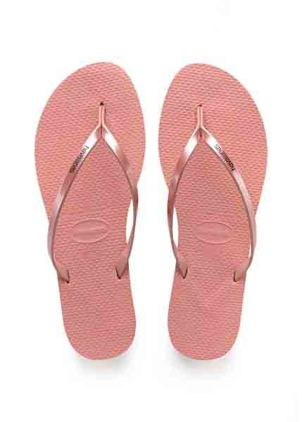 HAVAIANAS YOU METALLIC ROSE NUDE