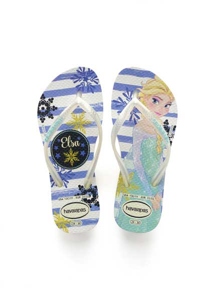 Havaianas kids slim frozen white/royal