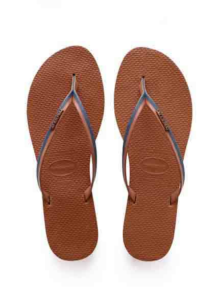 HAVAIANAS YOU JEANS NAVY BLUE/RUST