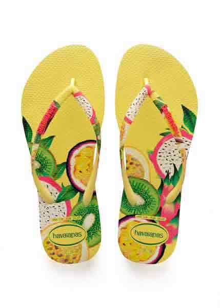 Havaianas slim sensation pollen yellow