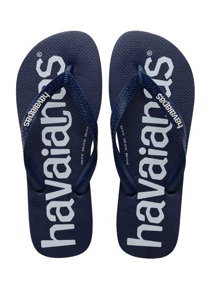 Havaianas top logomania navy blue
