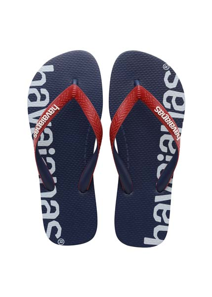 HAVAIANAS TOP LOGOMANIA HIGHTECH NAVY BLUE
