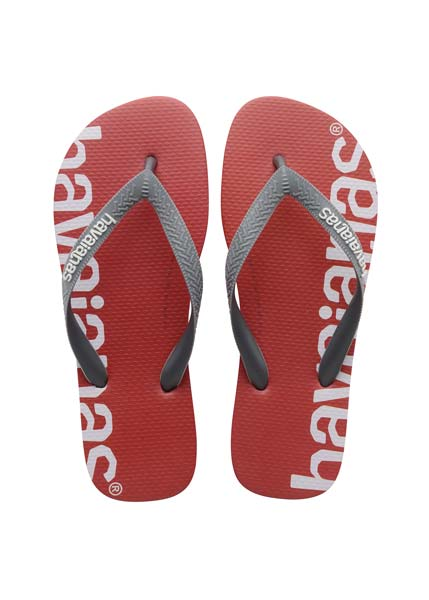 HAVAIANAS TOP LOGOMANIA HIGHTECH RED