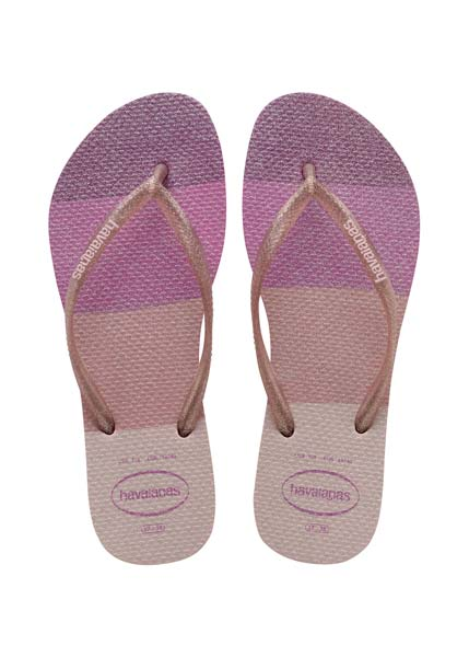 HAVAIANAS SLIM PALETTE GLOW CANDY PINK